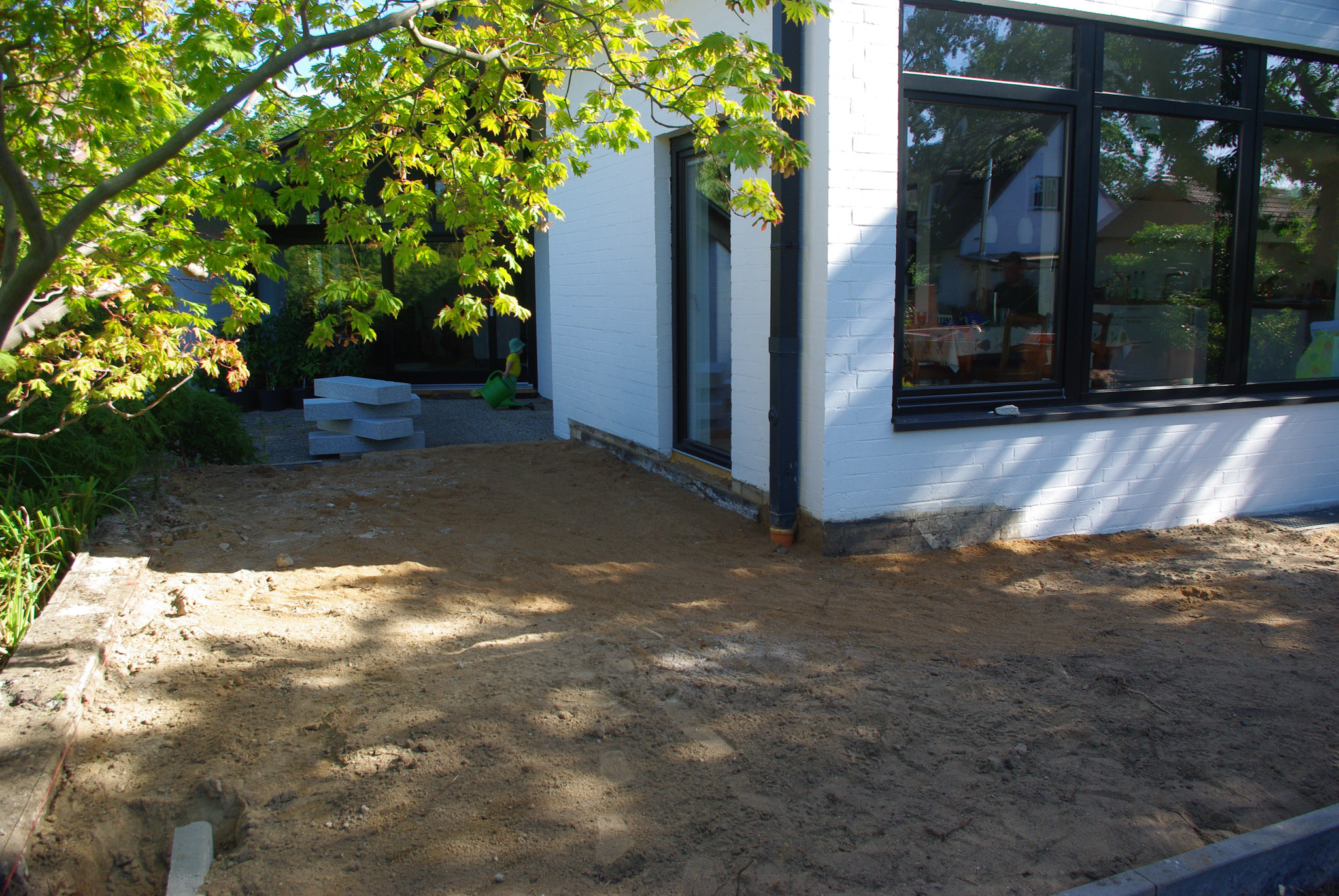 Holzterrasse-Schritt-1
