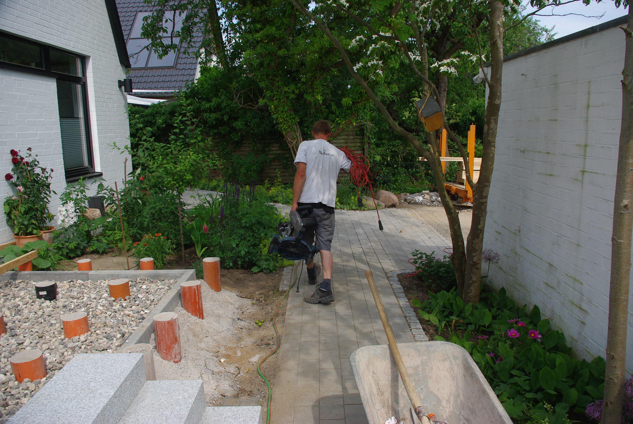 Holzterrasse-Schritt-2