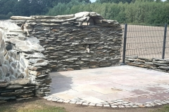 zaunbau-naturstein